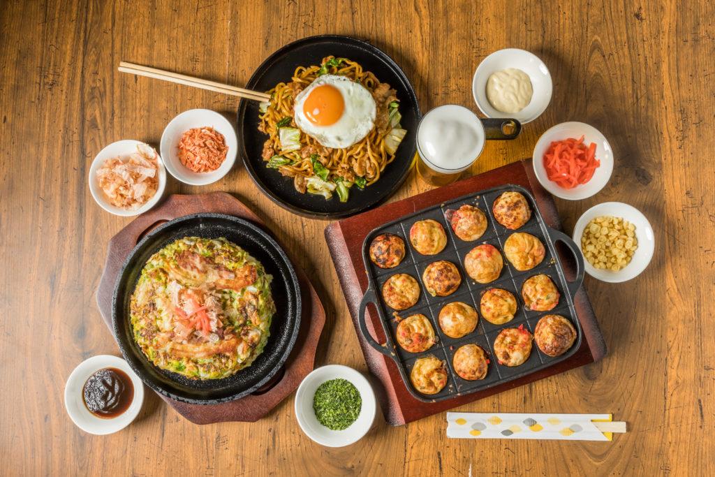 Takoyaki Tisch