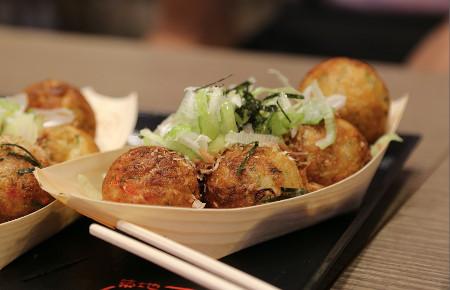 Takoyaki Oktopusbällchen