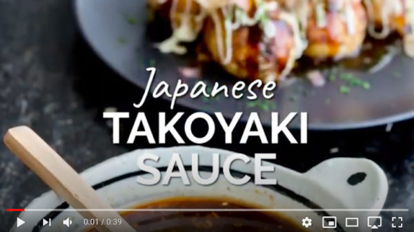 Video von Japanischer Takoyaki Sauce