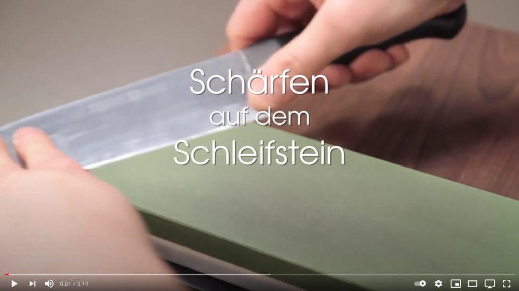Youtube Video Schärfen auf dem Schleifstein